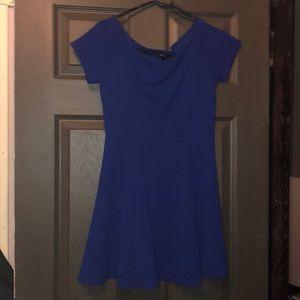 Mini Blue dress